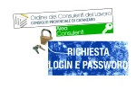 LOGIN E PASSWORD